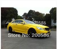 Yellow Matte Car Wrap Vinyl Sticker For Car Free Shipping mv30m