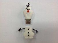 2014 New Frozen Cartoon USB flash  disk  4G 8G,16G.32G   100% Genuine new  USB pendrive  full capacity 1pcs