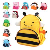 Super cute &  Lovely Cartoon animal Child School Bags Baby soft Backpacks Kids Schoolbag for boy & girls
