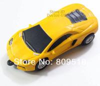 Yellow Wheel Tire Car Model USB Drive 1GB 2GB 4GB 8GB 16GB 32G Memory Flash Thumb Stick Pendrive