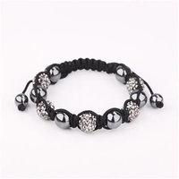 Shamballa jewelry Wholesale, free shipping, New Shamballa Bracelets Micro Pave CZ Disco Ball Bead Shamballa Bracelet SBB189