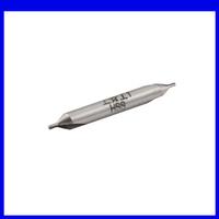 Free shipping 1mm x 4mm x 32mm HSS A Type Center Spotting Drill Bits Countersinks Gray10pcs