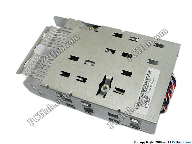 Dell Dimension 8400 Cooling Fan Blower Fan with Metal Bracket and Cable DP/N: H3840 0H3840(China (Mainland))