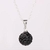 Fashion Jewelry Shamballa Necklace New Tresor Paris Allure CZ Disco Ball Bead SBP010