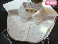 Wholesale 2014  New Hot Sale Promotion Fashion Peter Pan Collar Cotton Lace False Shirt Collar All-match For Woman