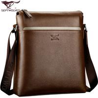 2014 Special Offer Real Silt Pocket Small(20-30cm) Cell Phone Pocket Cross-body Bag Men Genuine Leather Male Shoulder Messenger