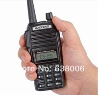 Baofeng UV-82 Dual Band VHF UHF 137-174/400-520MHz with Double PTT Button Transceiver two way radio Walkie Talkie+FREE Earphone