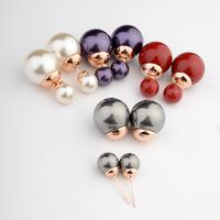 Real Italina Rigant Genuine Austria Crystal  18K gold Plated Stud Earrings for Women Enviromental Anti Allergies  #RG87056