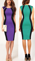 happy SZ New fashion sexy club dresses tight curves prominent figure strapless sleeveless black stripes
