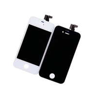 New LCD Display Screen Digitizer Touch Panel w/ Frame Assembly +Home Button Repair Tools Adhesive for iPhone 4S [Free Shipping]