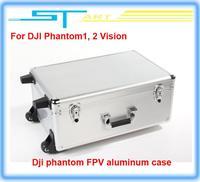 RC Dji phantom FPV Professional aluminum case box outdoor protection for DJI Phantom 2 Vision X350 pro easy to carry Drop ship