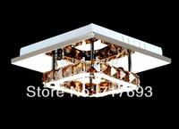 2014 new  crystal Orbital shapes stainless steel crystal LED ceiling light for living room bedroom light  1 light
