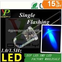 (TOP LED Supplier) 1.5Hz Blue Blinking led diode single color flashing led 3.0-3.5V