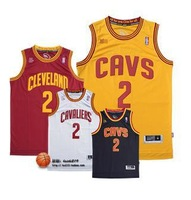Fast Free Shipping Kyrie Irving #2 Basketball Jersey, New Meterial Rev 30 Embroidery Basketball Jersey