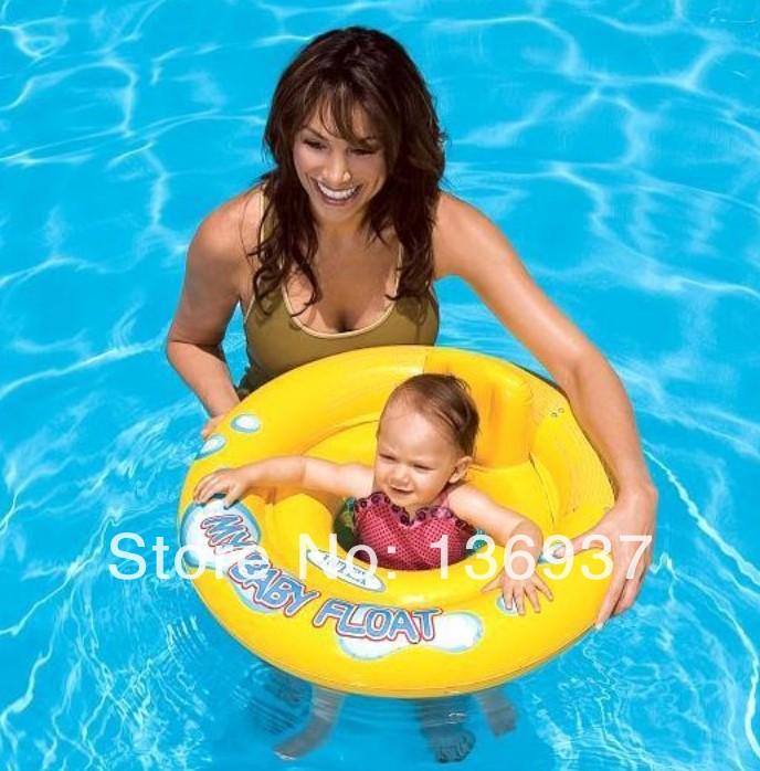 Baby Kid Inflatable Swim Safe Flotation Swimming Pool Ring Boat Raft Float Tube Seat Swimming Ring(China (Mainland))
