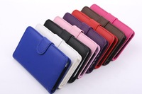 Free Shipping 100pcs/lot New Fashion ID Card PU Flip Leather Wallet Cover Shell Skin Case For Samsung Galaxy Note 3 III N9000