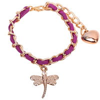 butterfly women chain bracelet fashion charm