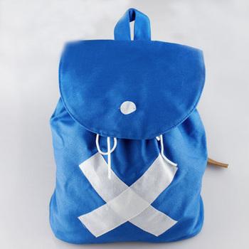 Япония горячая аниме одна часть чоппер рюкзак сумки на ремне , холст синий сумки
