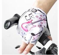 Half-finger gloves bike riding equipment suitable for new seismic breathable female bike gloves: ML XL