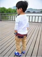 Trousers splicing 2014 Korea autumn boys jeans