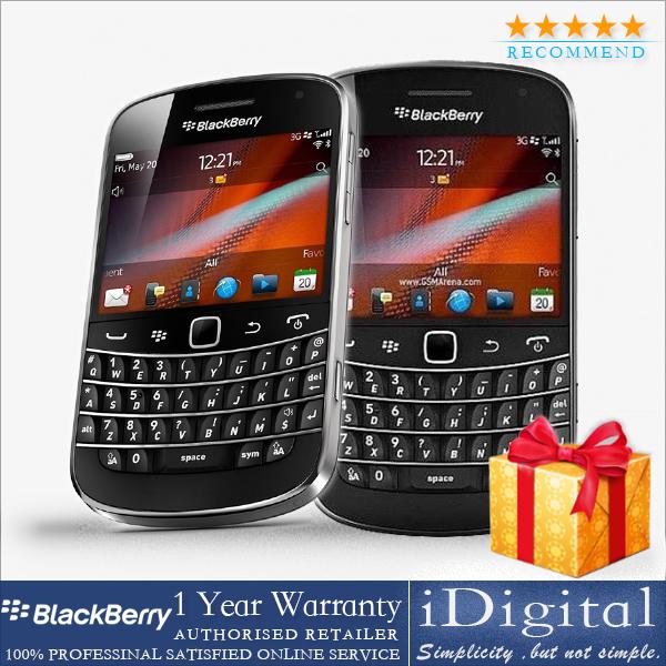 Original Blackberry 9900 QWERTY Keyboard 1228MHz 8GB 5MP GPS 3G WIFI Unlocked Mobile Phone Refurbished(China (Mainland))