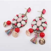 2014 New Design Fashion Wholesale Charm Alloy Earrings for Women# 105106