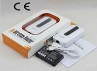 2pcs Unlocked Wireless 3G 3.75G Mifi Wifi Router PowerBank with Sim Card Slot Battery 3000mAh similar huawei E5331