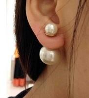 2014 new imitation pearl retro earrings wholesale pearl stud earrings jewelry women's party#906