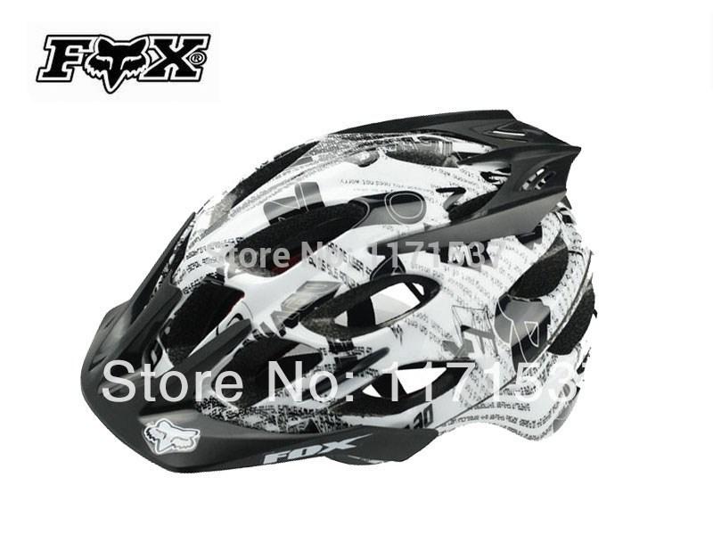 new 2014 Free Shipping Fox Flux Helmet Bicycle Helmet Mountain Bike Helmet(China (Mainland))