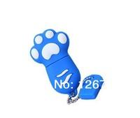 NEW Footprint Shape Plastic USB 3.0  Flash Drive Sticker  2 4 8 16 32 64g U Stick  Memory Stick Driver Free Shipping