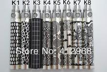 New EGO K Engraved Battery CE4 Atomizer Starter Kits Long Wick Clearomizer Vaporizer Zipper Stater Kits
