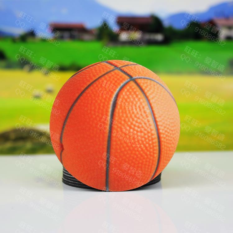 Multicolour cartoon magnetic refrigerator stickers mathematics teaching aids digital basketball football magnets(China (Mainland))