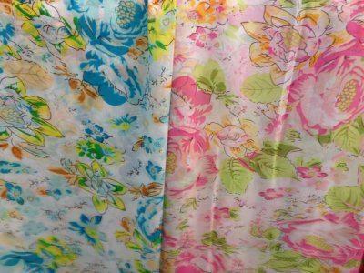 Spot supply Beautiful pattern chiffon printed fabrics(China (Mainland))