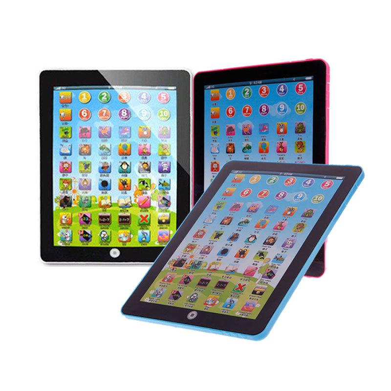 Bambini educativi tablet computer cinese inglese apprendimento di