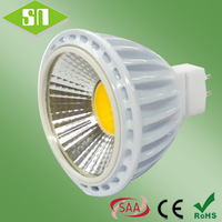 new product white dimmable 5W MR16 COB led