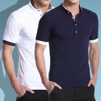 2014 Summer New Fashion Male Slim Fit Short-Sleeve Plus Size 3XL Camisa Polo Masculina Polo Shirt Men