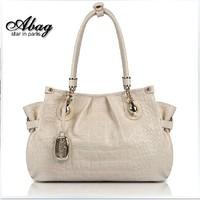 free shipping women's cowhide handbag genuine leather one shoulder handbag female fashion women's handbag new arrival