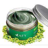 AFY Face Care Facial Mask Organic Mung Bean Seaweed Mask 120g  Shrink Pore Whitening Moisturizing Acne Treatment facial mask