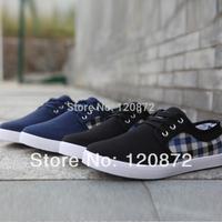 2014 New canvas shoes men Gentlemen sneakers for men sportscasual shoes slip resistant men flat Casual lace-up shoes
