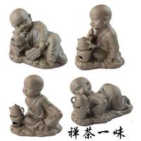 Purple zen tea pet yixing tea pet tea play tea water