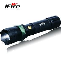 2014 Free Shipping Hot Sale Flashlight Promotion Ifire 803 The Glare Flashlight Mobile Phone Life-saving Hammer usb Band Lantern