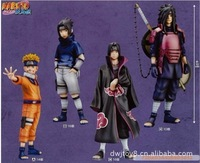 animation toys wholesale 13 generations 4pcs/set Naruto anime toys wholesale collection Japanese Cartoon doll toys