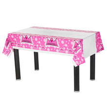 cheap pink party tablecloths