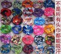 Outdoor seamless magic ride magic anti-UV bandana hip-hop anti-uv multifunctional bandana  wholesales bandana 10pcs