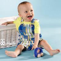 summer  sets 3pcs set  newborn baby clothing set  boy cotton sport summer set hot sale summer suits for boys