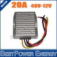 Wholesale DC-DC Converter Step-Down 36-60V to 12V Buck Module 48V to12V 20A 240W Power Supply Converter Module 10pcs/lot