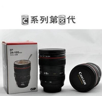 Free shipping CPAM Coffee camera lens mug cup Caniam logo Drop  camera lens mugs Thermos Travel Mug Lens Cup Creative cup