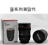 Free shipping CPAM Coffee camera lens mug cup Caniam logo Drop  camera lens mugs Thermos Travel Mug Lens Cup Creative cup