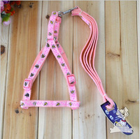 Hot Sale ! Free Shipping Dog New 2014 Dog Collar Bee Pet Traction Chest Straps Wholesale (2pcs/lot)