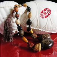 Car pendant son bodhi beads car quality decoration jushi peace symbol